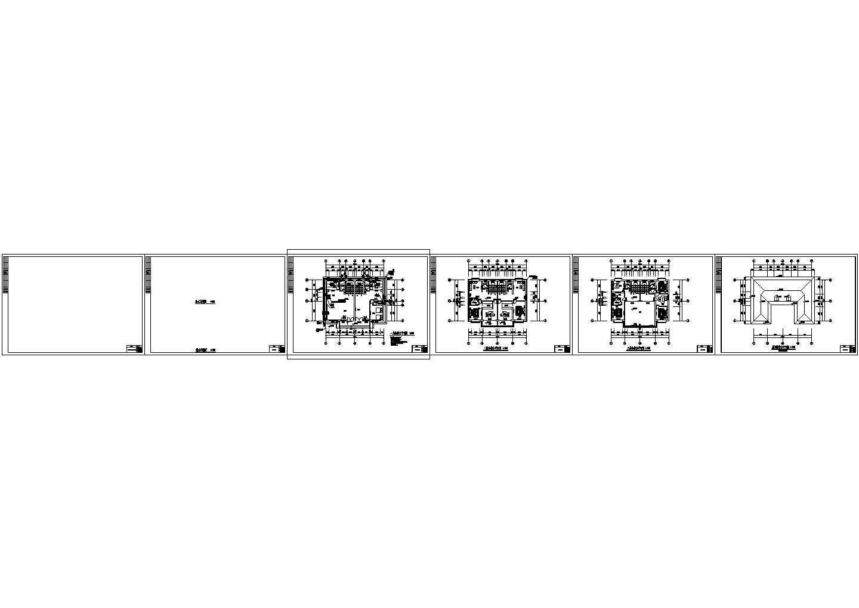 三层自建房别墅住宅给排水施工图图片3