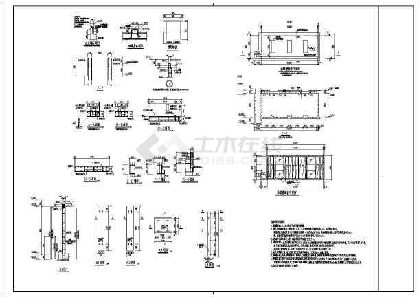 30立卧式油罐建筑图CAD结构图-图一