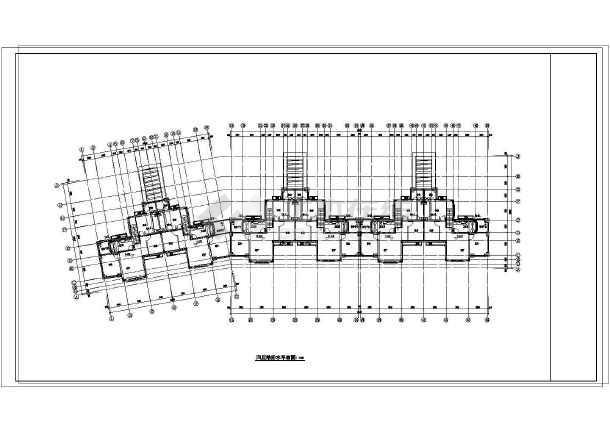 [辽宁]4层居住建筑给排水施工图(同层排水)-图二