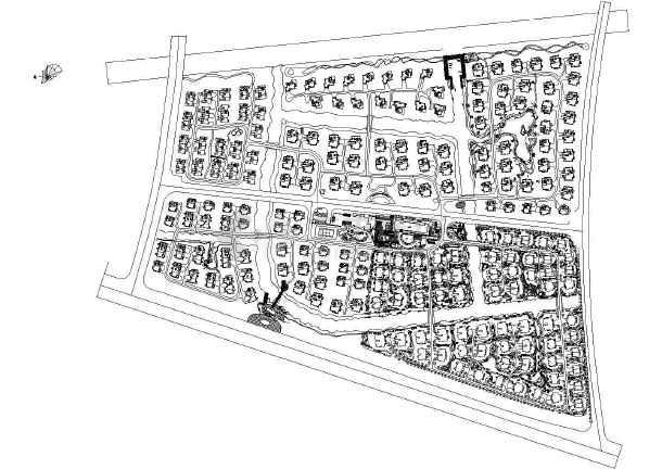 上海某居住区植物景观设计-图二