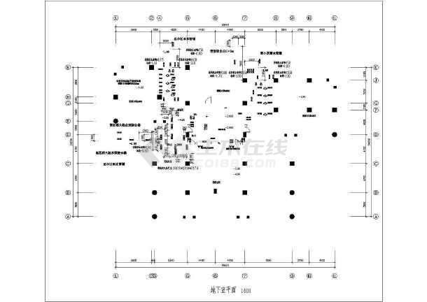某26层住宅楼给排水成套图纸-图二