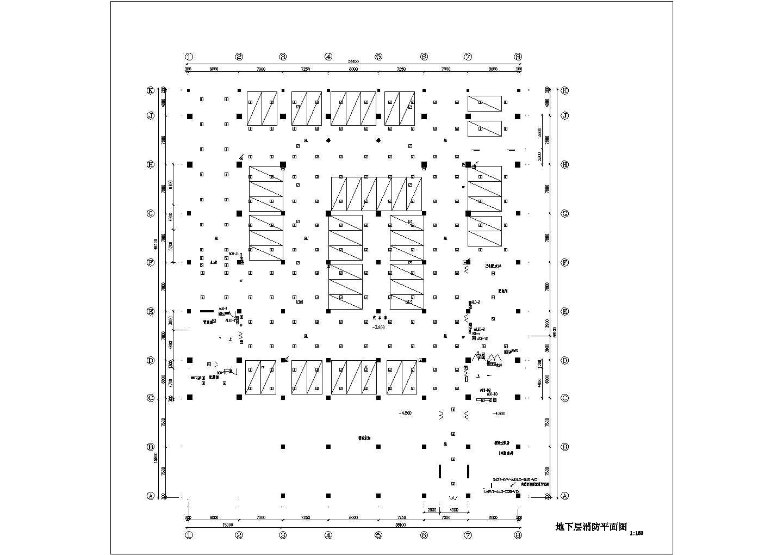 某商场消防平面图(共6张图纸)图片3