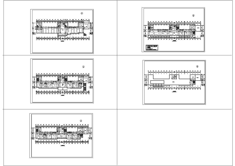 某六层办公楼电气设计方案图图片1