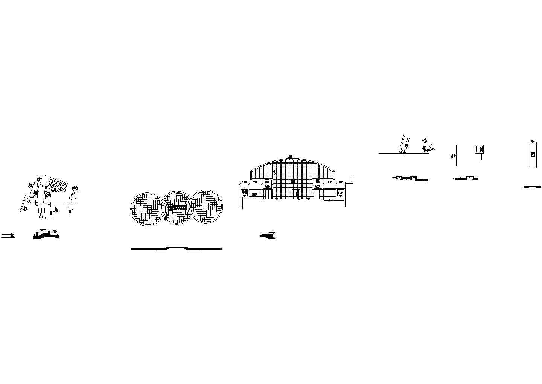 东湖花园二期河驳岸环境景观设计施工cad图纸图片2