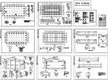 某地区24m跨门式钢架轻型房屋钢结构厂房结构施工图图片1
