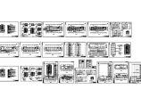 四层办公楼电气施工建筑CAD详图图片1