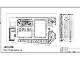 某医院景观植物配置CAD图图片1