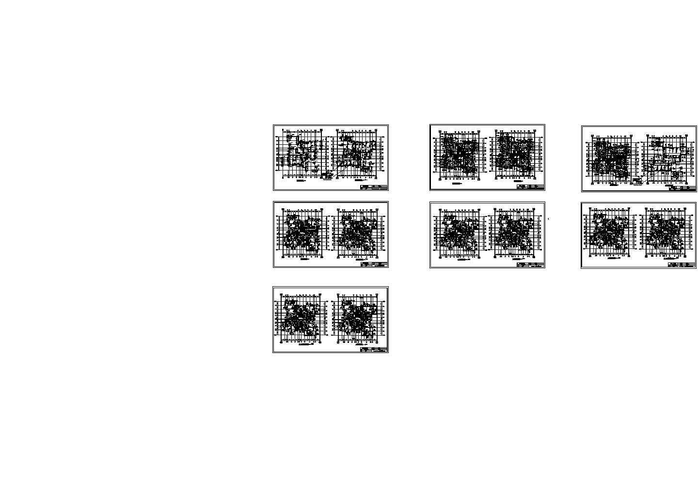 【18层】21557�O18层住宅楼全套毕业设计(含施组、部分建筑结构图、施工平面、进度表)图片2