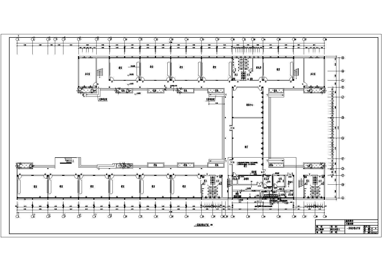 【4层】6547.43�O框架综合教学楼设计施工图(工程量计算(土建,钢筋)、建筑结构CAD图(给排水,强弱电,体育总平面图),计价)图片1