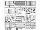 【江苏】单层钢屋面RC柱单层厂房结构CAD施工图图片1