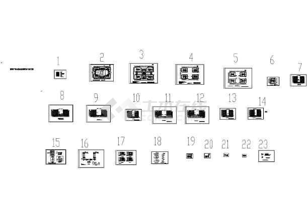本资料为国际广场夜景照明电气施工图,包括立面照明图,标志色块平面图,照明平面图等,内容详实,供设计师参考图片