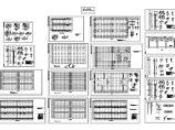 一套精美的单层钢结构厂房结构设计CAD施工图图片1