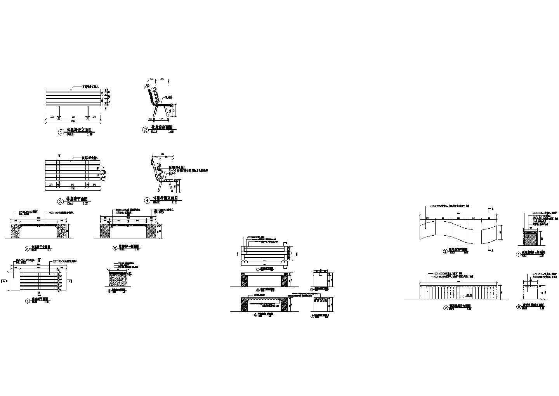 东湖花园T区二期河驳岸环境景观设计施工cad图纸图片2