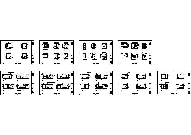 仁恒联洋河滨城酒店式公寓装修施工图图片3
