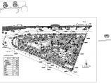 建筑总面积63059平方米三角形小区规划总平面图1张 含居住用地规划主要技术经济指标图片1