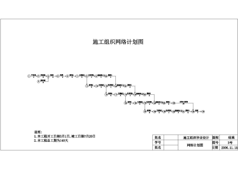 【5层】3294平米框架综合教学楼设计施工图(施组,工程量(手算)(基础,钢筋混凝土等),建筑结构图、平面图、横道图,招投标,清单计价)图片1