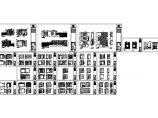 重庆奥园联排别墅装修设计施工图+效果图图片3