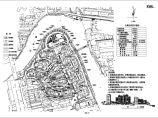 总用地45910平米总户数372户某市高级小区规划总平面图 立面图图片1