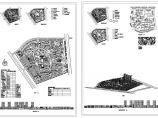 大型小区规划总图1张 含技术经济指标一览表图片1