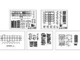 【5层】4000平米医院办公大楼全套毕业设计图(计算书111页、施工组织、建筑结构CAD图,平面布置图,进度横道图)图片3