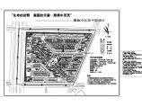 总用地面积170486平方米(155.7亩)溪韵小区总平面设计图1张 含技术经济指标及说明图片1