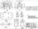 水泵安装标准CAD大样图纸图片1