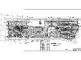 总用地70845平米花园住宅小区规划及单体设计总平面图初设图片1
