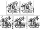 某市第一中心医院病房楼3-7层建筑设计CAD施工图图片1