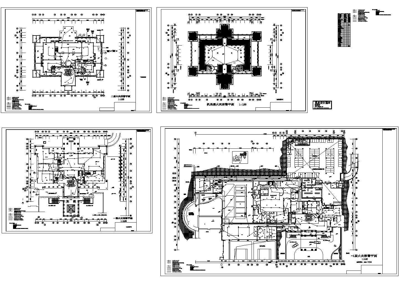 某地区酒店火灾自动报警系统设计电气施工图图片2