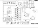 某地区公共建筑集中空调制冷机房自控电气施工图图片1