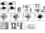 某高档别墅T型建筑施工设计cad图,含设计说明图片1