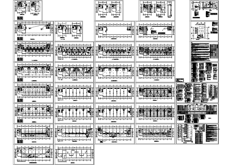 商贸集团16000平方米综合楼电气施工图图片1