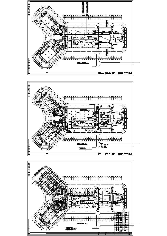 某地大型医院综合楼电气施工图图片2