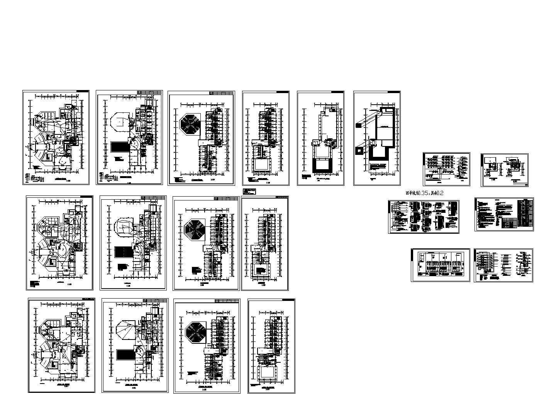 培训中心6层综合楼电气施工图图片1
