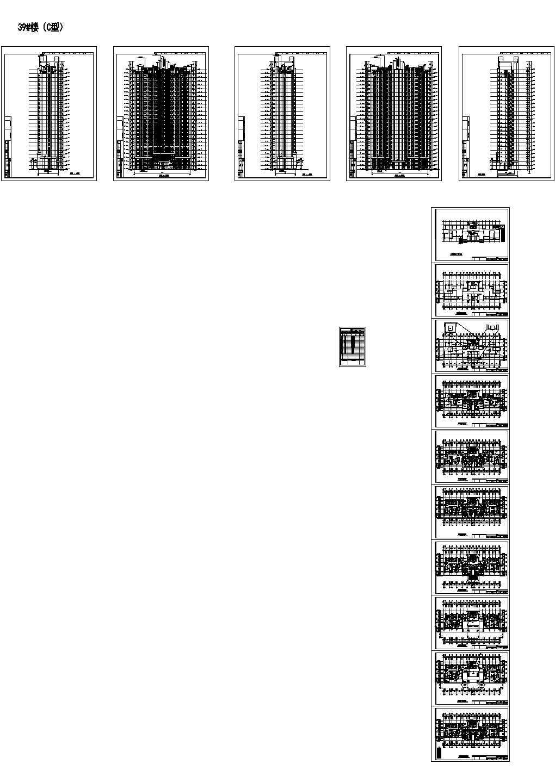 [上海]某ArtDeco小区规划及单体设计方案文本(含CAD)图片1
