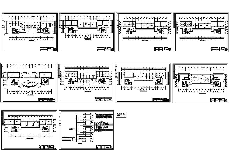 某医学院医教科技大楼弱电施工图图片1
