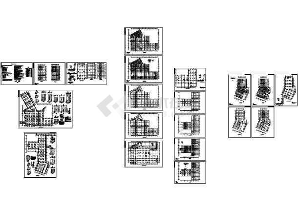 智能型数控地下汽车库。地下五层,地上一层。-图一