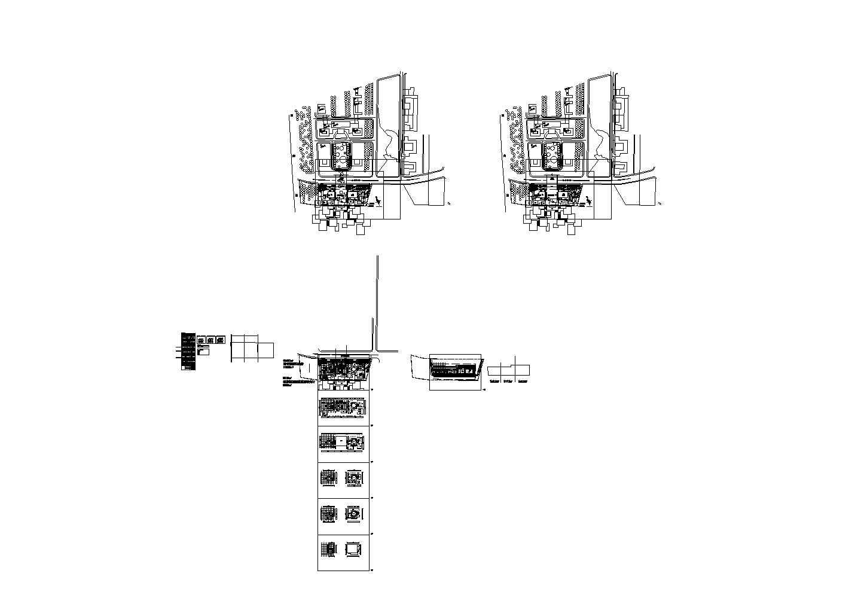 某长126米 宽47.7米 五层学校图书馆设计图含总平面图带1外观效果图图片3