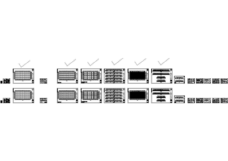 长江精密厂房钢结构设计图CAD(含设计说明)图片1
