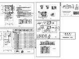 三层药品生产楼车间及质检楼空调暖通设计cad施工图(含平面布置图及设计说明,材料表)图片1