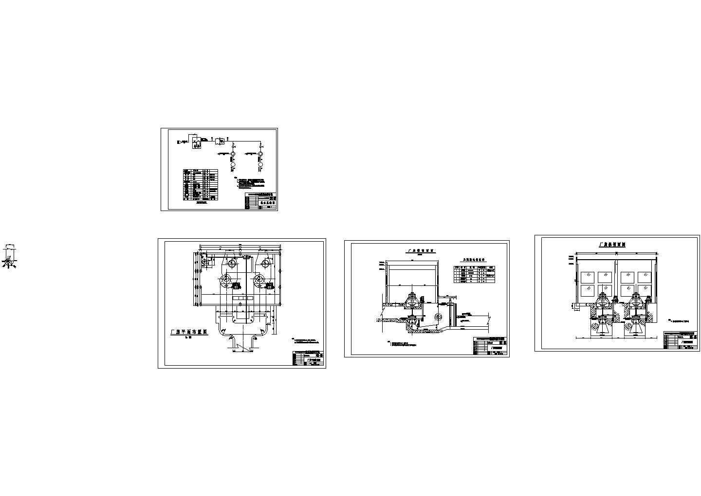 某大型水电站全套建筑设计图纸图片1