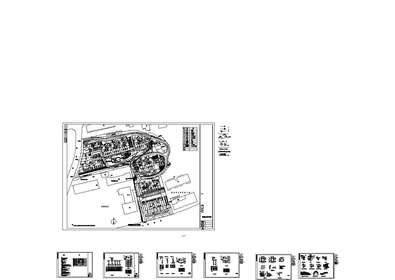 【乌鲁木齐】某小区景观照明及动力平面电气施工图图片1
