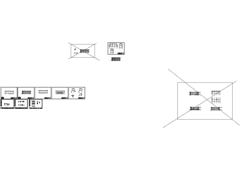 两层简易钢结构阁楼风情屋设计图纸图片1