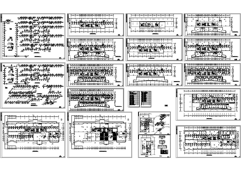 [山东]国际商业大厦空调通风防排烟系统设计暖通施工图(含机房设计)图片1