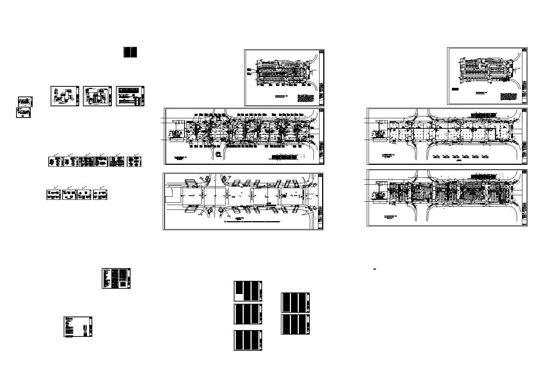 [长沙]地下商场空调通风全套设计暖通施工图(详图丰富)图片1