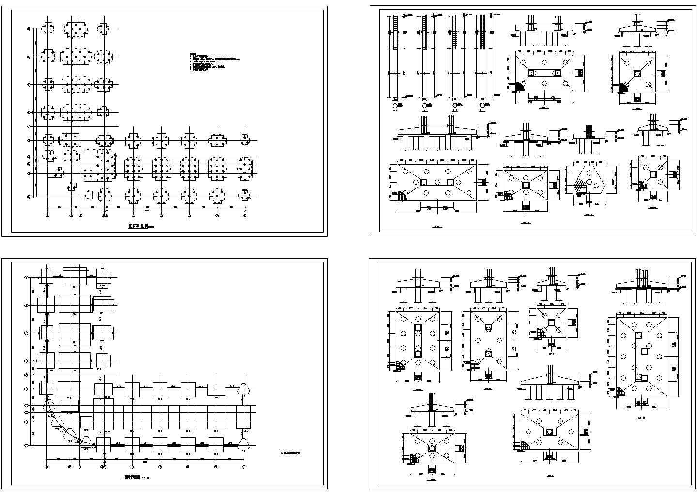 10441.17�O8层框架办公楼结构施工cad图纸图片2