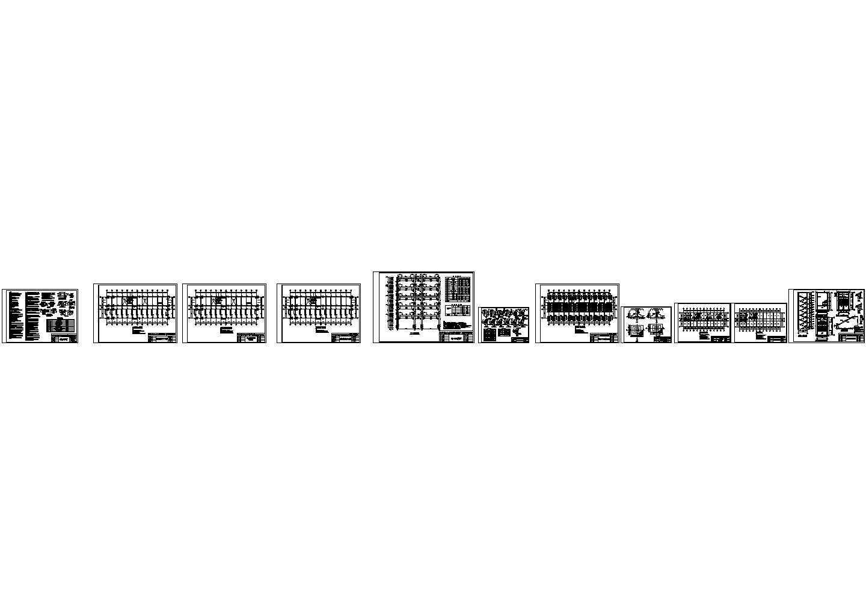 某7层框架教学楼(计算书、建筑结构图、6062平米)图片2
