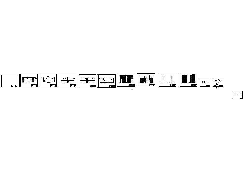 某7层框架教学楼(计算书、建筑结构图、6062平米)图片3