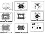 古建三江阁建筑设计方案图纸图片1