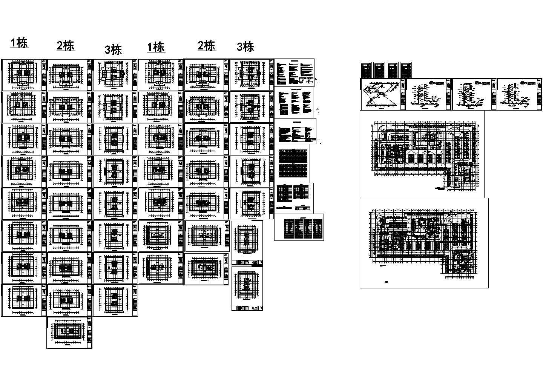 [新疆]13万平综合区采暖通风防排烟系统设计暖通施工图图片1